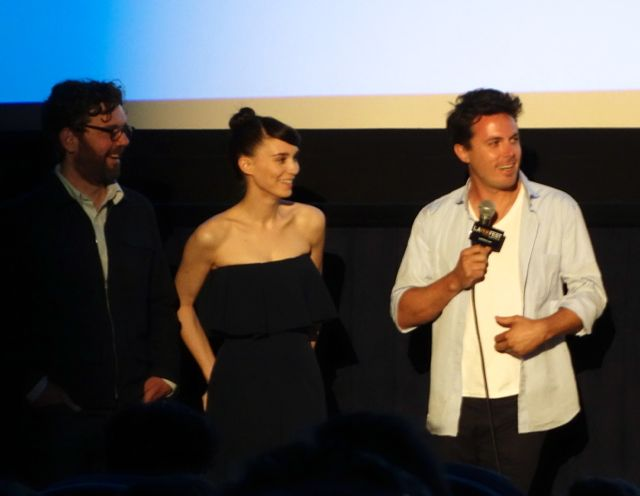 "Casey Affleck and Rooney Mara at the Los Angeles Film Festival Premiere of ""Ain't Them Bodies Saints"""